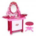 Kids Play Set Make Up Dresser 30 Piece - Pink