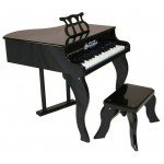 Schoenhut Black Baby Grand Piano - 30 keys
